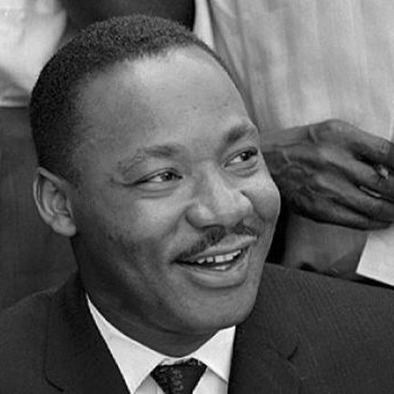 Smiling Dr. King
