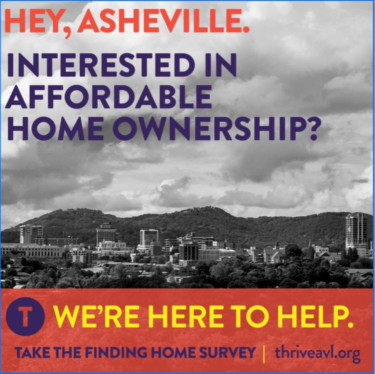 This is a flyer promoting a survey intended for those interested in home ownership. The details are in the caption.